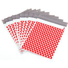 Red Polka Dots Plastic Parcel Mailing Postal Bags Packing Envelopes Polythene
