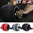 Ab Roller Wheel Abs Sports Machine Abdominal Stomach Slide Exercise Roll Out USA image