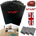 Black coloured plastic poly mailing bags postage postal protective packaging