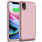 Rechargeable 5500mah Power Bank External Battery Charger Case for iPhone XR