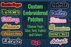 Kyпить Custom Embroidered Patch Personalized Name or Text Iron On/Sew On with Outline B на еВаy.соm