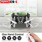 Syma X20-S 2.4G Mini Drone One Hand Control RC Quadcopter Kids Toy NEW