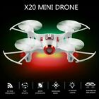 SYMA X20-S RC Mini Quadcopter Drone 4CH 6-Axis Gyro 3D Flip Gravity Sensor USA