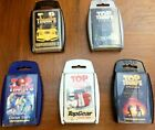 TOP TRUMPS COLLECTABLE CARDS STAR WARS SUPERCARS TOP GEAR ENGLAND CRICKET STARS