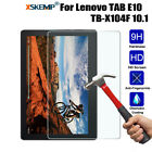 For Lenovo TAB E10 TB-X104F 10.1 Tablet Genuine Tempered Glass Screen Protector