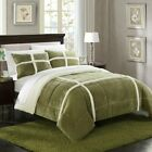 Chiron Microsuede Comforter Set by Chic Home image