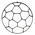 World Unique Imports Soccer Ball Metal Wall Sculpture