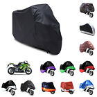 Motorcycle Scooter Bike Waterproof Cover Dust Sunshine Protector + Storage Bag