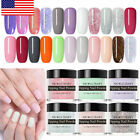 NICOLE DIARY 10ml Glitter Dipping Powder Natural Dry No Need Lamp Nail Art Kit