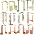 vidaXL Wooden Garden Arch Gate Arbour Rose Pergola Archway Patio Climbing Plant