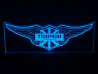 Triumph LED Sign + Remote Control. Bar Sign,Mancave, Light, Gift, Motorcycle $385.0 AUD on eBay