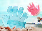 Pet Dog Cat Crystal Cleaning Massage Combs Bath Wash Head Grooming Brush Tools