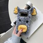 For Samsung Galaxy S10 Cute Furry Pig Phione Case