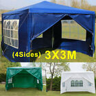 3x3 3x4 3x6m Pavilion Gazebo Awning Canopy Sun Shade Shelter Marquee Party Tent