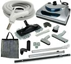 30 or 35 Central Vacuum Kit with Hose Power Head  Tools Cana Vac Easy Flo