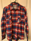 2019 Seattle Mariners Flannel Shirt Gonzaga Night!  NEW! Embroidered Quality! on Ebay