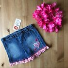 NWT LIPSTIK Girls Denim Shorts sz 4T