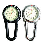 Carabiner Clip on Belt Watches Fob Sports Watch for Doctors Sports Hikers LAX