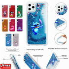 Cute Cartoon Disney Cover Glitter Quicksand Phone Case For iPhone 11 5s Max 6s 8
