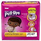 Girl's Size 3T-4T Huggies Pull-Up's Travel Pack of 4 or More~Great For Traveling image