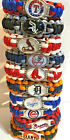 Major League Baseball MLB Team Logo Paracord Bracelet Wristband