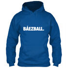 Chicago Cubs Hoodie Báezball Sweatshirt Javier Javy Baez Logo El Mago Icon Blue on Ebay