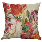 Simple Home Decor Printed flower Kint Cotton Linen Pillow Cases Cushion Cover