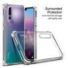 Shockproof Case For Huawei Mate 20 Lite P30 P20 Pro Clear Silicone Rubber Cover