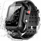 For Apple Watch Series 3 Waterproof Case 42mm 38mm & Soft Band Full Body Cover image