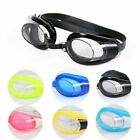 Boys Girls Waterproof Anti-fog Swimming Googles Wonderful Ears Plugs Set Selling