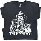 Merle Haggard T Shirt Hag Vintage Country Music Outlaw Men Women Concert Band image