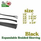 Expandable Sleeving Sheathing Various Sizes 35FT Braided Loom Tubing Protect LOT