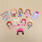 The Little Girl Badge Embroidered Iron on Patch Cute Emblem Clothes Cartoon Logo $0.99 USD on eBay