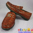 Men's Shoes - Genuine Crocodile/ Alligator Skin - Handmade Shoes