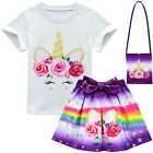 LOL Big Surprise Girls Tee Tops + Tutu Skirt + Bag Princess Party Fancy Costume