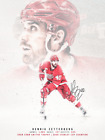Henrik Zetterberg artwork POSTER nhl Detroit Red Wings canvas Poster Canvas $11.99 USD on eBay
