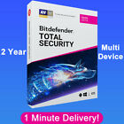 Bitdefender Total Security 2019 - 2 Years! Download Link  (1 Minute Delivery)