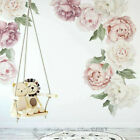 Peony Rose Individual Wall Decal Home Nursery Decor Sticker Kids Art Mural Gift