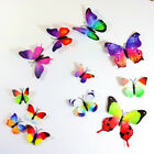 12 x 3D Butterfly Wall Stickers Home Decor Room Decoration Sticker Bedroom Girls