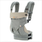 Ergo 360 Four Position breathable And cotton carrier Dusty New W box
