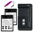 High Capacity Battery or Charger for Samsung Galaxy Ace 2 GT-I8160/Amp SGH-I407