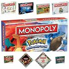 Entertainment and Football Monopoly Board Games - Arsenal Pokemon Star Trek on eBay