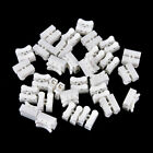 30pc Self Locking Electrical Cable Connectors Quick Splice Lock Wire Terminal RF