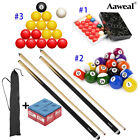 Complete Ball Sets Snooker Billiards Pool Cues Sticks Kit +Chalks $49.99 USD on eBay