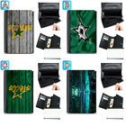 Dallas Stars Leather Wallet Purse Coin Credit Card ID Holder $14.99 USD on eBay