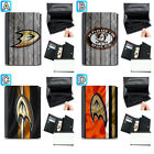 Anaheim Ducks Leather Wallet Purse Coin Credit Card ID Holder $13.99 USD on eBay