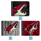 Arizona Coyotes Leather Wallet Bifold Purse Men Card ID Holder $11.99 USD on eBay