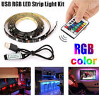 Kyпить 5V USB LED Strip Lights TV Back Light 5050 RGB Colour Changing with 24Key Remote на еВаy.соm