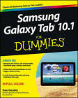 Samsung Galaxy Tab 10.1 For Dummies by Dan Gookin (Paperback, 2012) Tablet
