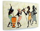 AFRICAN TRIBAL LADIES CANVAS PICTURE PRINT WALL ART 6296
